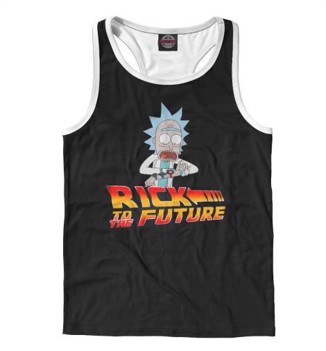 Майка борцовка Print Bar Rick To The Future
