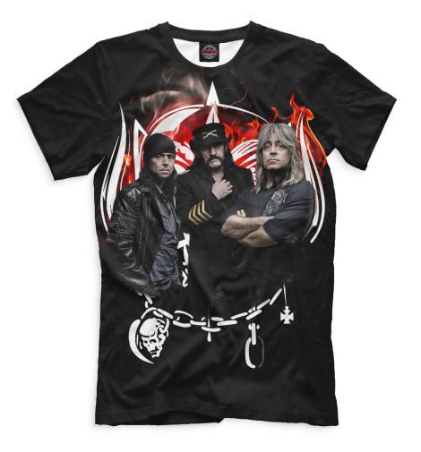 Купить Мужская футболка Motorhead MOT-596256-fut-2