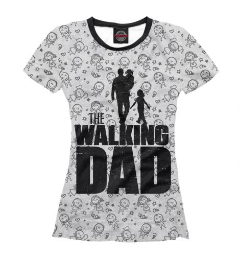 Футболка Print Bar Walking Dad