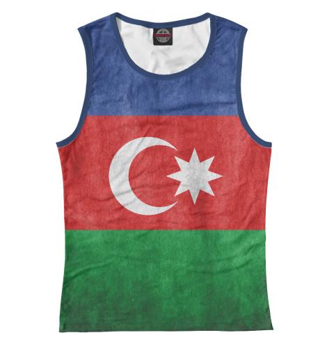 Майка Print Bar Флаг Азербайджана худи print bar флаг азербайджана