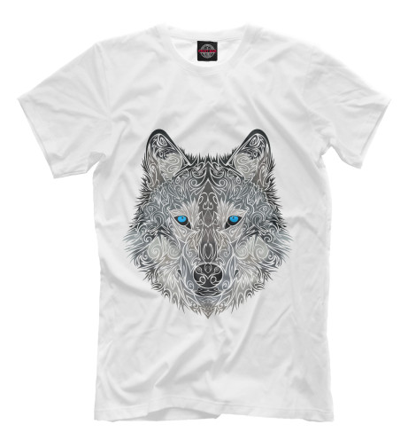 Футболка Print Bar Волк арт футболка print bar волк тотем