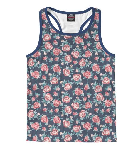 Купить Мужская майка-борцовка Цветы CVE-905346-mayb-2