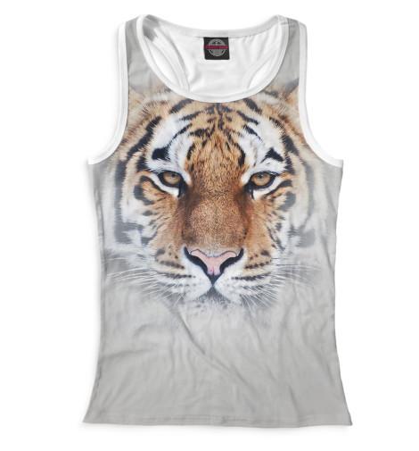 Женская майка-борцовка Тигр