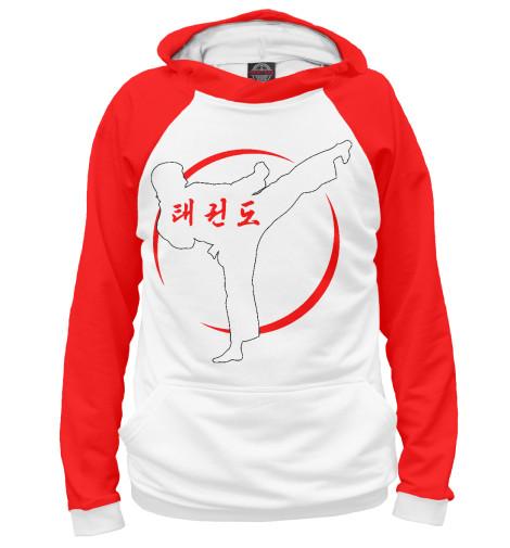 Худи Print Bar Taekwondo Vector White vector hx300