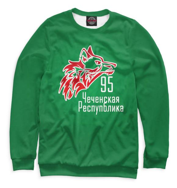Купить Женский свитшот Чечня CHN-219392-swi-1