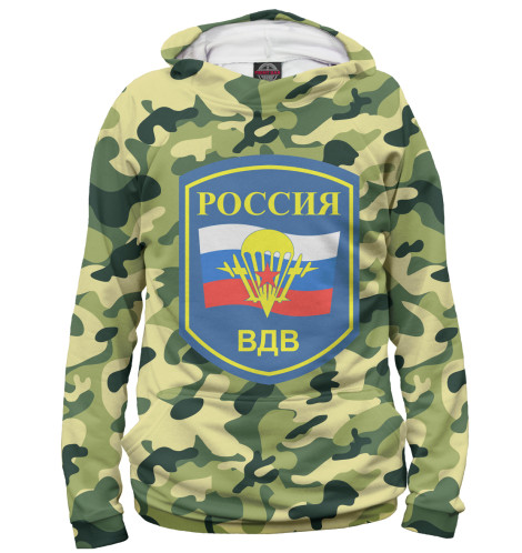 Мужское худи Россия ВДВ Print Bar VDV-312403-hud