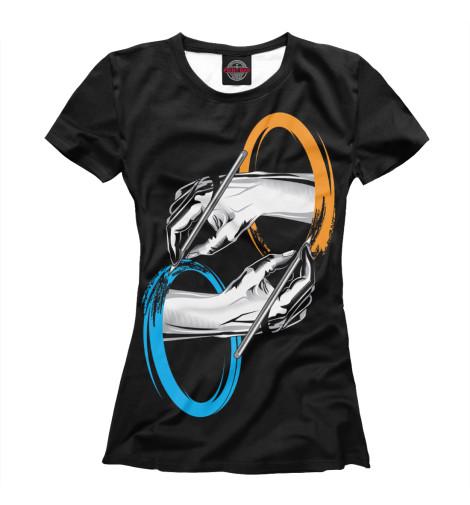 Купить Женская футболка Portal RPG-456832-fut-1
