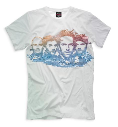 Футболка Print Bar Coldplay виниловая пластинка coldplay ghost stories