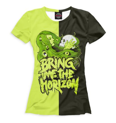 Купить Женская футболка Bring Me the Horizon BRI-951798-fut-1
