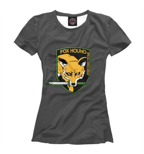 Футболка Print Bar FOXHOUND футболка print bar special forces foxhound