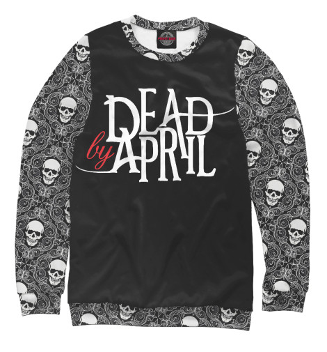 Свитшот Print Bar Dead by April broken april