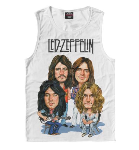 Майка Print Bar Led Zeppelin led zeppelin led zeppelin i deluxe edition 3 lp