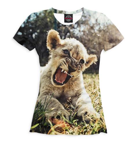 Женская футболка ЛьвыВсе футболки изготавливаются в Москве на нашем производстве и на 100% состоят из высококачественного материала microfibre. Благодаря этому, качество изображения на футболке получается наиболее ярким и насыщенным и выдерживает любое количество стирок.<br><br>Размер INT: 2XS,XS,S,M,L,XL,XXL,XXXL,4XL,5XL,104,110,116,122,128,134,140,146,152,158<br>Цвет: Белый<br>Пол: Женский<br>Материал: Хлопок