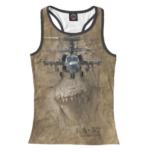Майка борцовка Print Bar Вертолет -52 «Аллигатор»