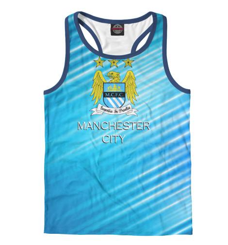 Майка борцовка Print Bar Manchester City худи print bar manchester city