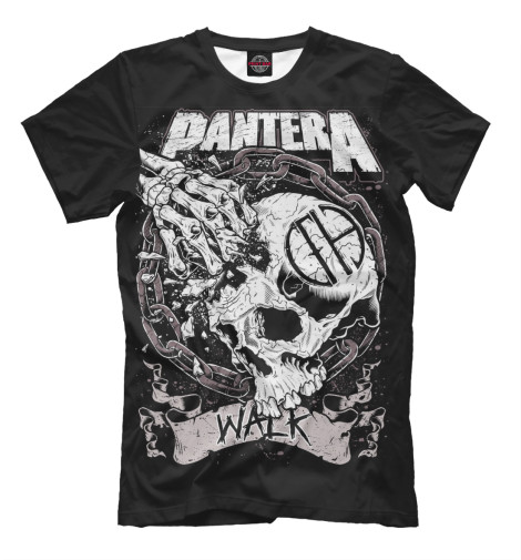 Футболка Print Bar Pantera Walk футболка print bar pantera mouth for war