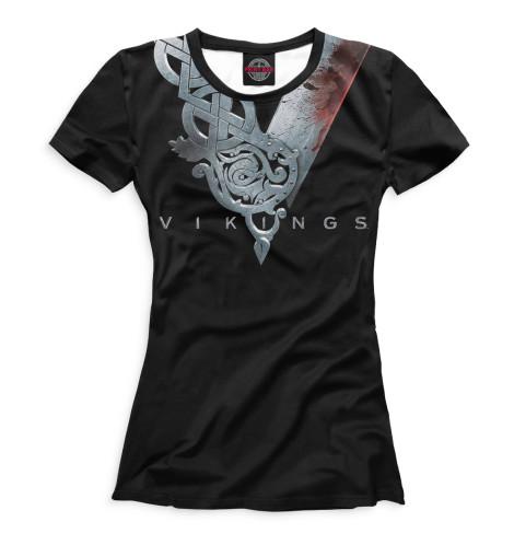 Купить Женская футболка Викинги VIK-902339-fut-1