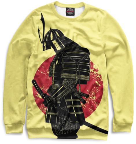 Купить Мужской свитшот Доспехи самурая EDI-344789-swi-2