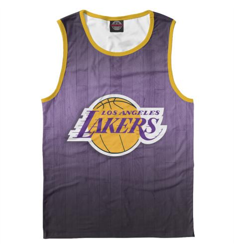 Майка Print Bar Los Angeles Lakers чехол для iphone 6 глянцевый printio los angeles lakers