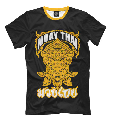 Футболка Print Bar Muay Thai Fighter свитшот print bar muay thai boxing