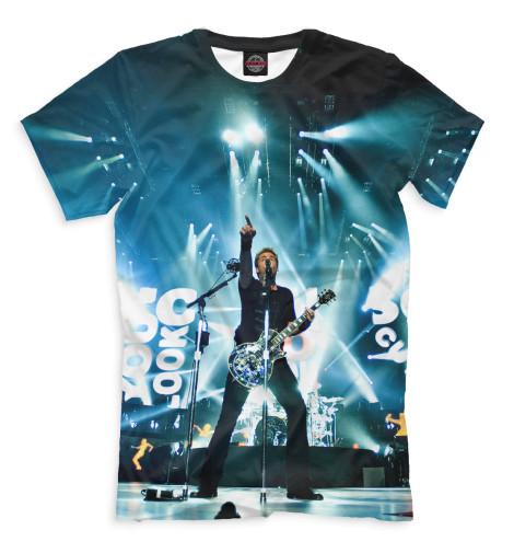Мужская футболка Nickelback
