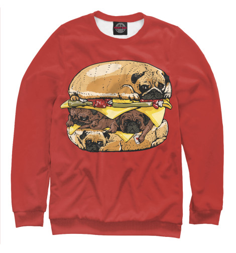 Купить Свитшот для девочек Dog Burger EDA-946534-swi-1