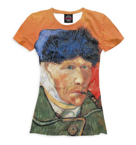 Женская футболка Ван Гог