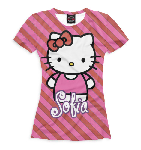 Женская футболка Софья