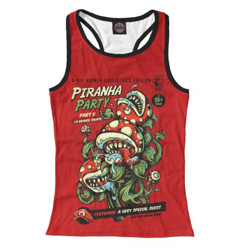 Майка борцовка Print Bar Piranha Party кеды piranha кеды