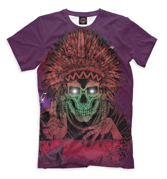 Купить Мужская футболка Скелет SKU-346516-fut-2
