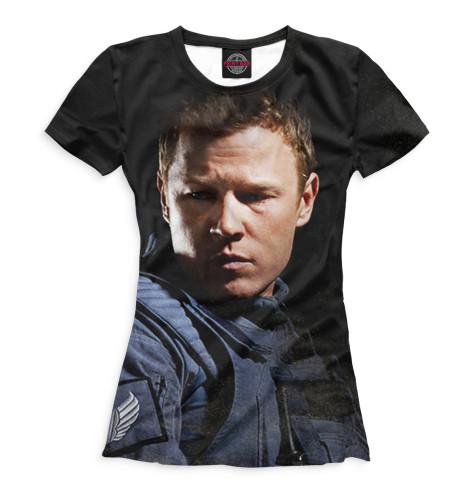 Женская футболка Алекс Леннон