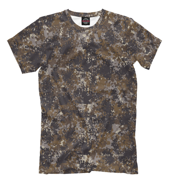 European dark brown camo