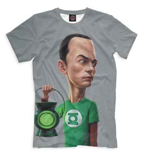 Мужская футболка Шелдон Купер
