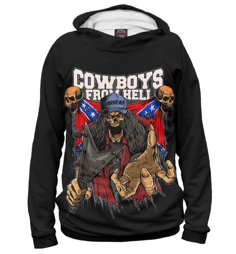 Худи Print Bar Cowboys From Hell худи print bar pantera cowboys from hell