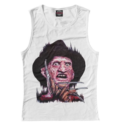 Майка Print Bar Freddy Krueger брюки freddy брюки