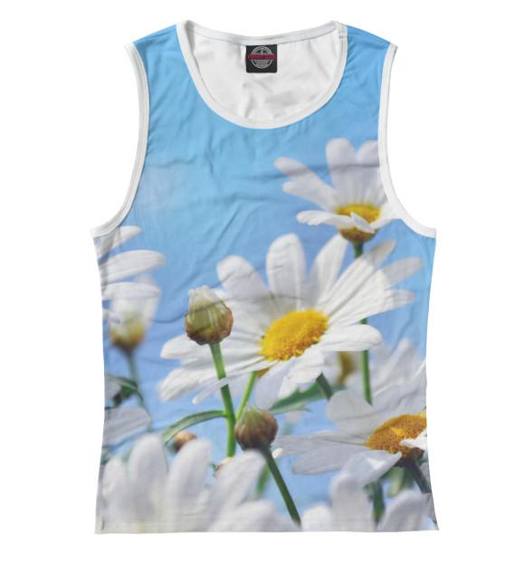 Купить Женская майка Ромашки CVE-874569-may-1