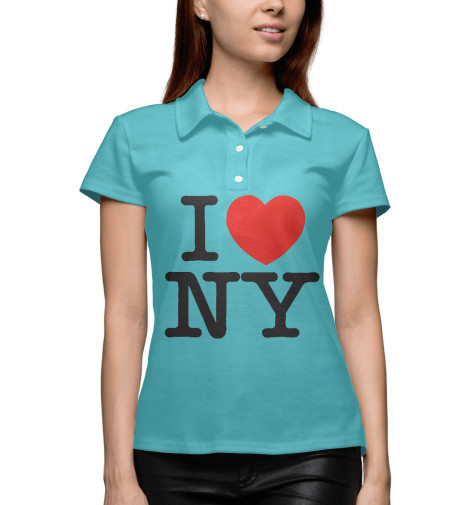 Поло Print Bar I Love New York dkny love from new york for women где