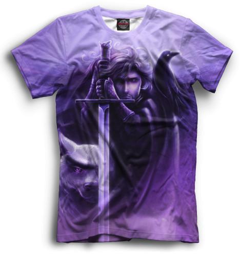 Мужская футболка Джон Сноу