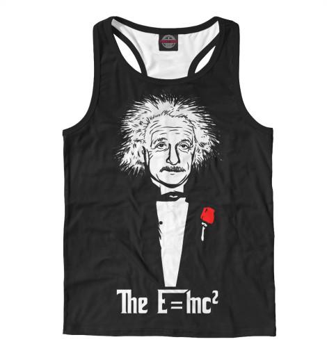 Майка борцовка Print Bar Альберт Эйнштейн майка борцовка print bar эйнштейн