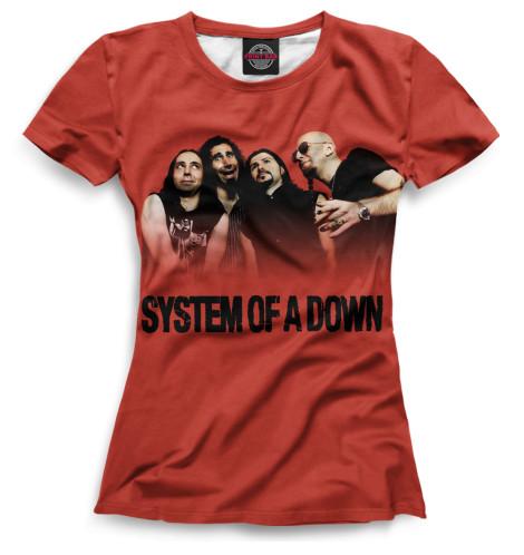 Женская футболка System of a Down