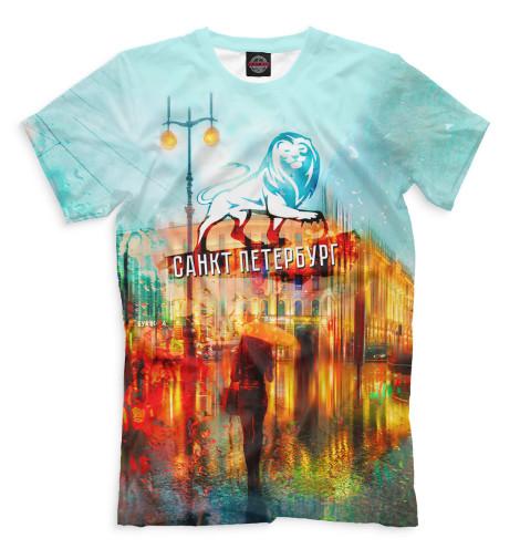 Мужская футболка Санкт-Петербург