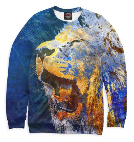 Женский свитшот Львы