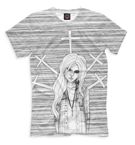 Футболка Print Bar The Pretty Reckless seiko часы seiko sgeh53p1 коллекция conceptual series dress