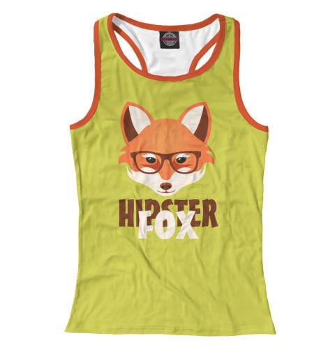 Майка борцовка Print Bar Hipster Fox