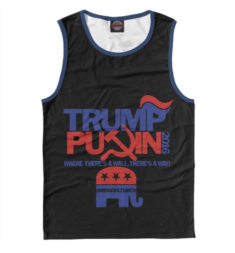 Майка Print Bar Trump & Putin майка борцовка print bar trump body