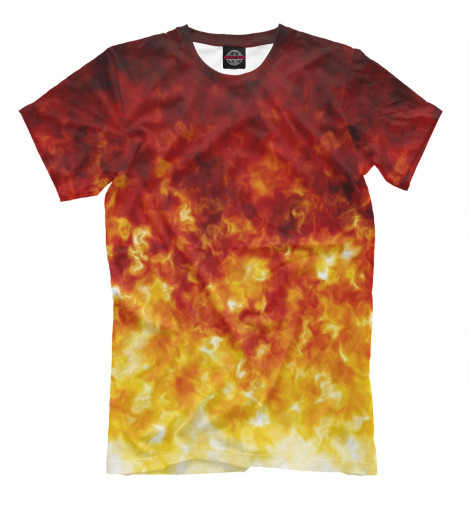 Футболка Print Bar Яркое пламя майка борцовка print bar яркое пламя