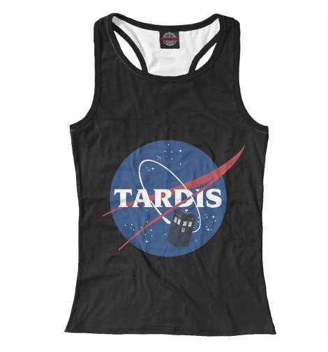 Майка борцовка Print Bar Tardis NASA