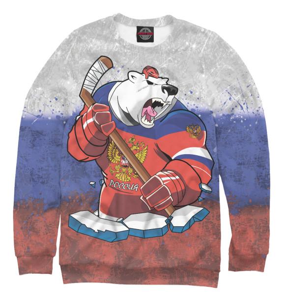 Купить Свитшот для девочек Медведь HOK-184460-swi-1