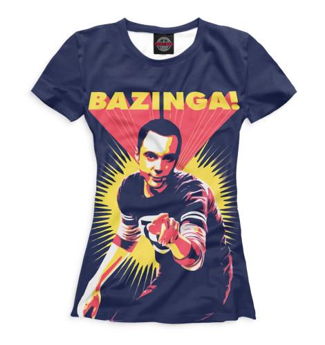 Купить Футболка для девочек Bazinga! TEO-116277-fut-1