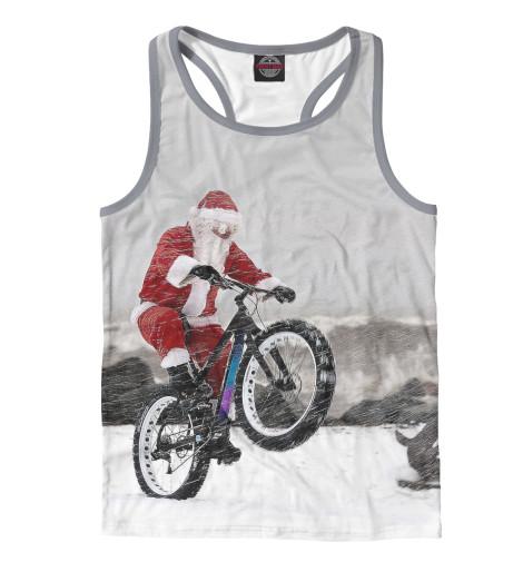 Купить Майка для мальчика Дед Мороз и его БАЙК NOV-931405-mayb-2